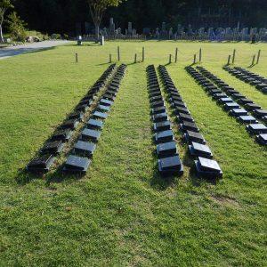 桜下庭園樹木葬2人用2列並び