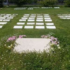女性区のお墓